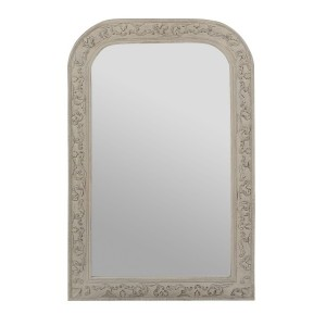 Miroir chaumont manguier patine grise 60x80 cm boutique for Miroir 60x80