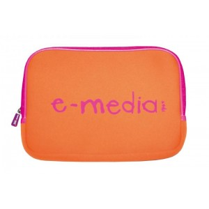 HOUSSE TABLETTE 10 POUCES - E-MEDIA - ORANGE
