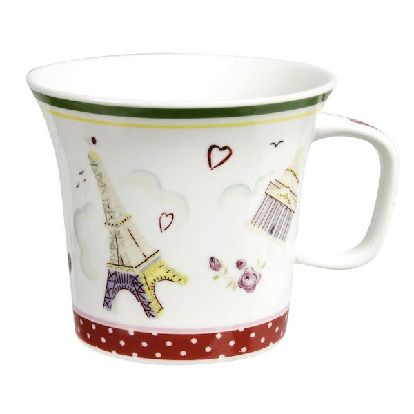 coffret de 2 tasses th paris toujours boutique cadeaux. Black Bedroom Furniture Sets. Home Design Ideas