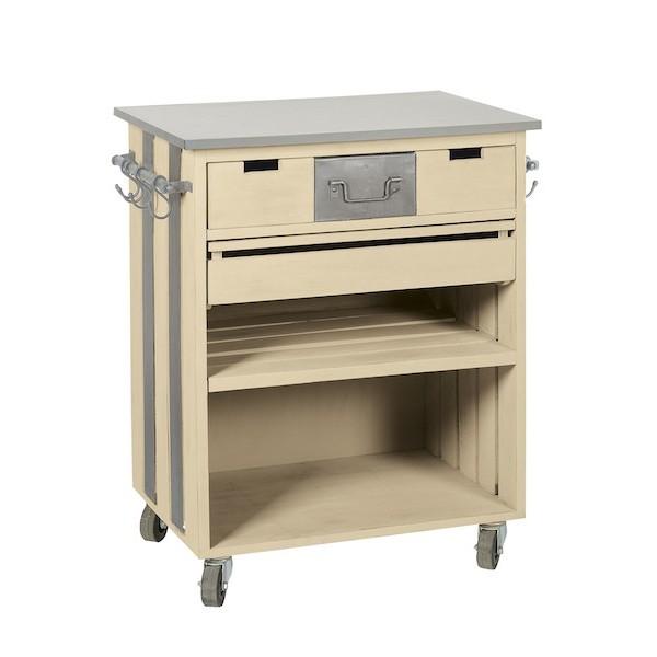 console 3 tiroirs bois metal boutique cadeaux. Black Bedroom Furniture Sets. Home Design Ideas