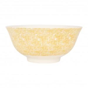 Bol abeille beezz jaune 65cl-d15xh7.5cm porcelaine