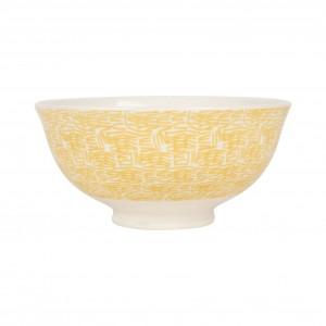 Bol abeille beezz jaune 30cl-d12xh5.5cm porcelaine