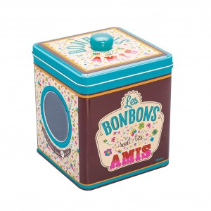 BOITE BONBONS TON AMI 12X12H14