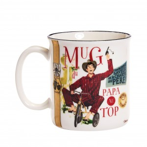 MUG EFFET EM BTE PAPA-TOP 38CL