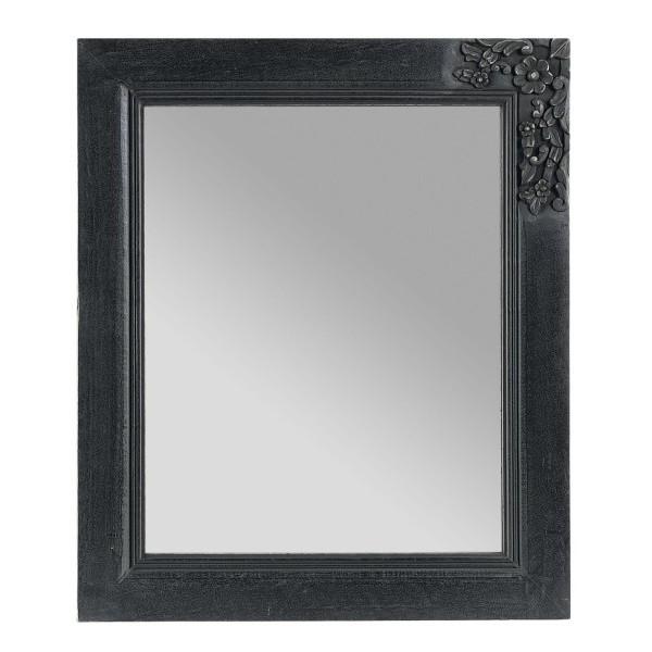 Miroir ninon manguier fin ardoise 55xh65cm boutique cadeaux for Miroir jardin d ulysse