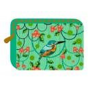 PORTE MONNAIE TROPICAL BLUE